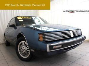 1987 Oldsmobile Toronado BROUGHAM 1 PROPRIO BAS KM CUIR AC TOUTE