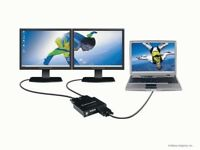 Matrox DualHead2Go Analogue - external graphic card for gamers or VJ's (PC and Mac)
