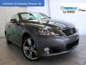 2012 Lexus IS 250 Convertible NAVIGATION  cuir