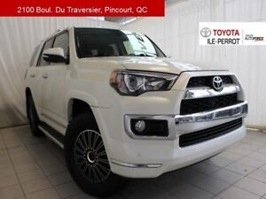 2016 Toyota 4Runner LIMITED, 7 PASS, CUIR, TOIT, NAVI, BLUETOOTH