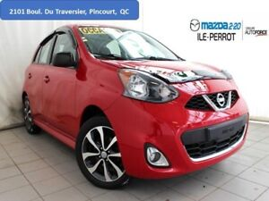 2015 Nissan Micra SR LOW KM CAM RECUL A/C AUX USB CRUISE MAGS