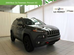 2017 Jeep Cherokee Trailhawk,V6,ENSEMBLE DE REMORQUAGE,NAV NEVER