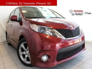 2013 Toyota Sienna SE, A/C, MAGS, TOIT OUVR, CAM RECUL, BLUETOOT