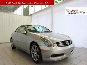 2003 Infiniti G35 coupe A/C, CUIR, MAGS, GR ELEC, CRUISE BIG POW