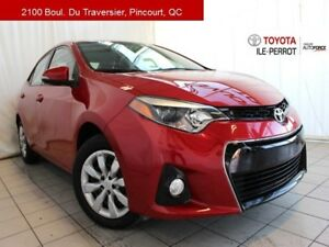 2014 Toyota Corolla S, 6MT, A/C, SIEGES CHAUF, BLUETOOTH SPORTY