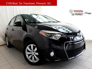 2015 Toyota Corolla S, 6MT, A/C, SIEGES CHAUF, BLUETOOTH SPORTY