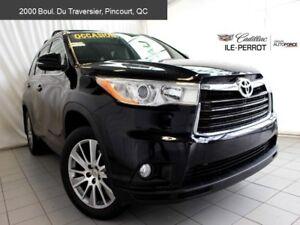 2015 Toyota Highlander XLE,Cuir,Toit ouvrant,Nav