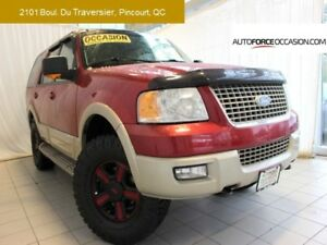 2005 Ford Expedition EDDIE BAUER 4X4 8 PASS CUIR TOIT MAGS TOUTE