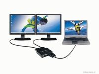 Matrox DualHead2Go Analogue - external graphic card for gamers (PC and Mac)