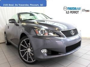 2012 Lexus IS 250C Convertible NAVIGATION  Vossen Mags MUST GO!!
