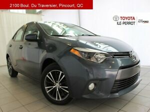 2016 Toyota Corolla LE UPGRADE, A/C, TOIT OUVR, CAM RECUL, BLUET