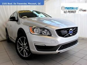 2015 Volvo V60 Cross Country T5 AWD CROSS COUNTRY CUIR TOIT BLUE