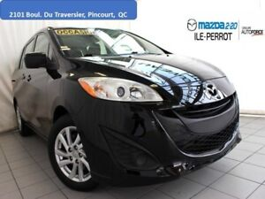 2012 Mazda Mazda5 GS 6PASSAGERS BLUETOOTH A/C
