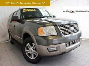 2003 Ford Expedition EDDIE BAUER 4X4 7 PASS 5.4L CUIR TOIT MAGS