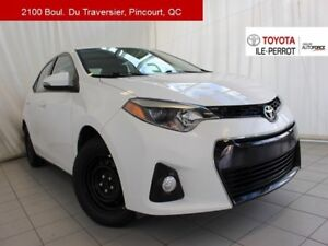 2016 Toyota Corolla S UPGRADE, A/C, TOIT OUVR, MAGS, BLUETOOTH++