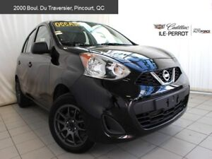 2017 Nissan Micra MAGS,BAS MILLAGE,38$/semaine!!
