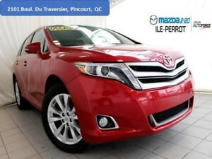 2014 Toyota Venza LIMITED AWD CUIR TOIT PANO BLUETOOTH