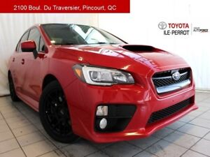 2015 Subaru WRX SPORT, A/C, TOIT OUVR, CRUISE, BLUETOOTH LOW MIL