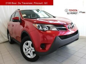2014 Toyota RAV4 AWD LE UPGRADE, A/C, CAM RECUL, BLUETOOTH ALWAY