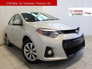 2016 Toyota Corolla S, CVT, A/C, SIÈGES CHAUF, BLUETOOTH ONLY ON