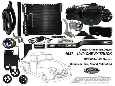 Vintage Air 1947-1949 Chevy Truck DELUXE 6 CYL Air Conditioning Defrost Heat Kit