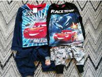 Boys disney cars pyjamas age 2-3
