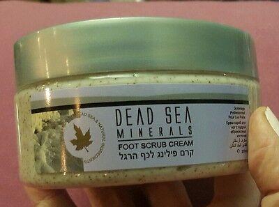 Sea Minerals Foot Scrub - DEAD SEA MINERALS- Mineral Foot Salt Cream Scrub- 400ml- LOW WORLDWIDE SHIPPING!