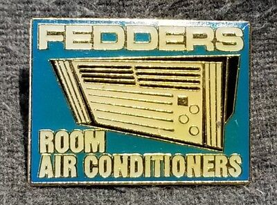 LMH PINBACK Pin FEDDERS Room Air Conditioners HOME DEPOT Employee AC Window Unit