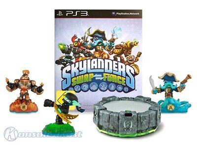 PS3 / Playstation 3 - Skylanders: Swap Force + 3 Figuren + Portal of Power DE/EN for sale  Shipping to Nigeria