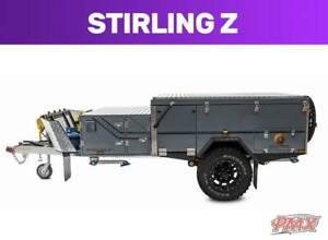 Light weight off road hard floor. Stirling Z forward open. PMX Wangara