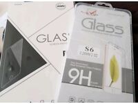 Two Samsung S6 Tempered Glass