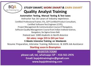 QUALITY ANALYST SOFTWARE TESTING COURSE AUTOMATION SELENIUM BDD