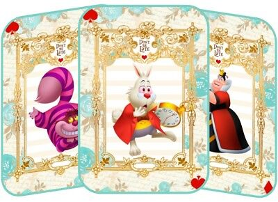 Alice in Wonderland 8 table tent cards party decoration](Tent Decorations)