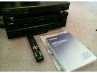 Yamaha DSP AX620 Dolby Digital / dts 5.1 Amplifier + Technics receiver