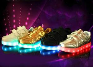 NEW LED kid Shoes-BLOW OUT STOCK SALE! chargeable LED/incl chrgr