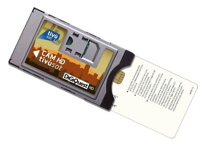 TivuSat HD CI Modul inkl. Smartkarte - SOFORT LIEFERBAR!!!