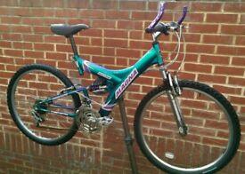 "Magna 26"" Wheels Dual Suspension Bicycle"