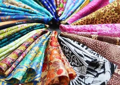 Vintage Silk Sari Women Wear 100/% Pure Silk Sari Fabric 5 Yard Silk Fabric Silk Saree