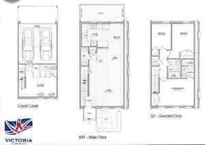 BRAND NEW - Beautiful 1300 sqft, 3 Bedroom, Town home for RENT! Kitchener / Waterloo Kitchener Area image 7