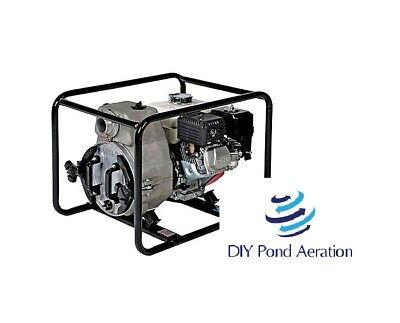 New Tsurumi Ept3-50ha 2 5.5hp Engine Driven Trash Pump Wfull Warranty