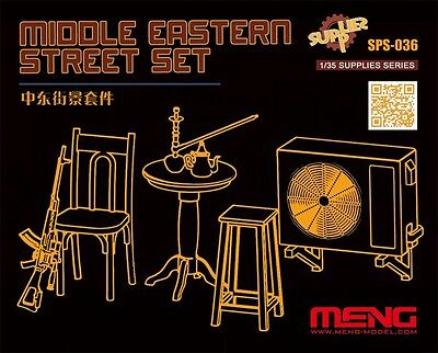 MENG MODEL SPS-036 Middle Eastern Street Set for Diorama in 1:35