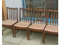 4 dining chairs free delivery :)