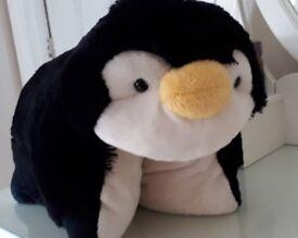 Pillow Pets Plush Penguin Cushion