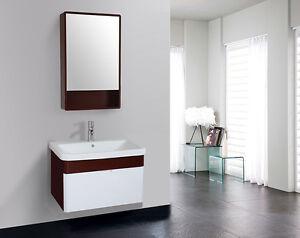 Mobile bagno arredo bagno completo pensile 70 cm bianco - Pensile specchio bagno ...