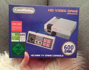 600 in 1 Retro Video Game Console HDMI CoolBaby (NES Nintendo)