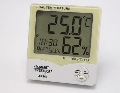 Thermometer Mini Digital Hygrometer Humidity Meter Wet And Dry Household