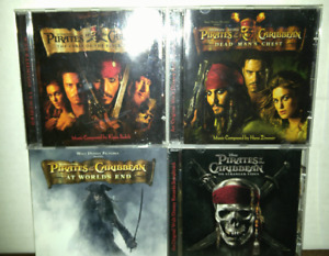 Disney's Pirates of the Caribbean Soundtrack CDs