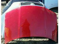 2005 skoda fabia vrs bonnet in red
