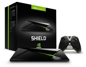 New NVIDIA SHIELD TV Console 500GB PRO Android Gaming Console Box Controller PC
