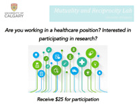 PAID STUDY: Healthcare workers and well-being